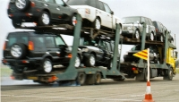 Car Transporter (LGV) traffic incident